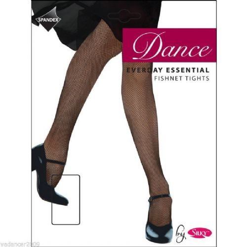 SILKY EVERYDAY ESSENTIAL FISHNET DANCE TIGHTS Girls Sizes Black